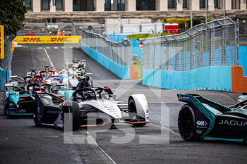10/04/2021 - 36 Lotterer André (ger), TAG Heuer Porsche Formula E Team, Porsche 99X Electric, action 20 Evans Mitch (nzl), Jaguar Racing, Jaguar I-Type 5, action during the 2021 Rome ePrix, 3rd round of the 2020-21 Formula E World Championship, on the Circuito Cittadino dell'EUR from April 9 to 11, in Rome, Italy - Photo Germain Hazard / DPPI - 2021 ROME EPRIX, 3RD ROUND OF THE 2020-21 FORMULA E WORLD CHAMPIONSHIP - FORMULA E - MOTORI