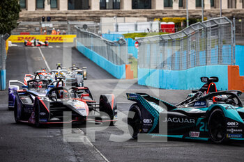 10/04/2021 - 23 Buemi Sébastien (swi), Nissan e.dams, Nissan IM02, action during the 2021 Rome ePrix, 3rd round of the 2020-21 Formula E World Championship, on the Circuito Cittadino dell'EUR from April 9 to 11, in Rome, Italy - Photo Germain Hazard / DPPI - 2021 ROME EPRIX, 3RD ROUND OF THE 2020-21 FORMULA E WORLD CHAMPIONSHIP - FORMULA E - MOTORI