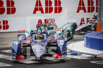 10/04/2021 - 04 Frijns Robin (nld), Envision Virgin Racing, Audi e-tron FE07, action during the 2021 Rome ePrix, 3rd round of the 2020-21 Formula E World Championship, on the Circuito Cittadino dell'EUR from April 9 to 11, in Rome, Italy - Photo François Flamand / DPPI - 2021 ROME EPRIX, 3RD ROUND OF THE 2020-21 FORMULA E WORLD CHAMPIONSHIP - FORMULA E - MOTORI
