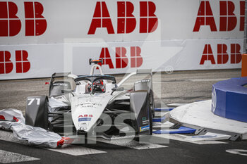 10/04/2021 - 71 Nato Norman (fra), ROKiT Venturi Racing, Mercedes-Benz EQ Silver Arrow 02, action during the 2021 Rome ePrix, 3rd round of the 2020-21 Formula E World Championship, on the Circuito Cittadino dell'EUR from April 9 to 11, in Rome, Italy - Photo François Flamand / DPPI - 2021 ROME EPRIX, 3RD ROUND OF THE 2020-21 FORMULA E WORLD CHAMPIONSHIP - FORMULA E - MOTORI