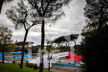 10/04/2021 - ABB bridge ambiance during the 2021 Rome ePrix, 3rd round of the 2020-21 Formula E World Championship, on the Circuito Cittadino dell'EUR from April 9 to 11, in Rome, Italy - Photo Germain Hazard / DPPI - 2021 ROME EPRIX, 3RD ROUND OF THE 2020-21 FORMULA E WORLD CHAMPIONSHIP - FORMULA E - MOTORI