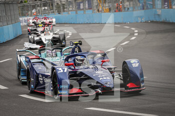 10/04/2021 - 37 Cassidy Nick (nzl), Envision Virgin Racing, Audi e-tron FE07, action during the 2021 Rome ePrix, 3rd round of the 2020-21 Formula E World Championship, on the Circuito Cittadino dell'EUR from April 9 to 11, in Rome, Italy - Photo François Flamand / DPPI - 2021 ROME EPRIX, 3RD ROUND OF THE 2020-21 FORMULA E WORLD CHAMPIONSHIP - FORMULA E - MOTORI