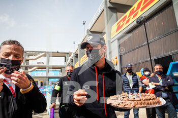 25/04/2021 - Anniversaire de VERGNE Jean-Eric (fra), DS Techeetah, DS E-Tense FE20, portrait during the 2021 Valencia ePrix, 3rd meeting of the 2020-21 Formula E World Championship, on the Circuit Ricardo Tormo from April 23 to 25, in Valencia, Spain - Photo Germain Hazard / DPPI - 2021 VALENCIA EPRIX, 3RD MEETING OF THE 2020-21 FORMULA E WORLD CHAMPIONSHIP - FORMULA E - MOTORI