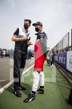 25/04/2021 - LOTTERER André (ger), TAG Heuer Porsche Formula E Team, Porsche 99X Electric, portrait grille de depart starting grid during the 2021 Valencia ePrix, 3rd meeting of the 2020-21 Formula E World Championship, on the Circuit Ricardo Tormo from April 23 to 25, in Valencia, Spain - Photo Germain Hazard / DPPI - 2021 VALENCIA EPRIX, 3RD MEETING OF THE 2020-21 FORMULA E WORLD CHAMPIONSHIP - FORMULA E - MOTORI