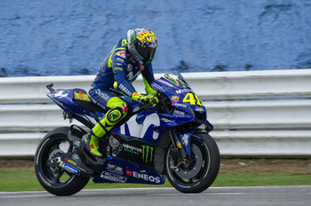 Valentino Rossi during Saturday Free Practices in Misano with his new helmet - MotoGP - Gran Premio di San Marino e della Riviera di Rimini - Qualifications  - MOTOGP - MOTORI