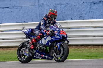 Maverick Vinales during Saturday Free Practices in Misano - MotoGP - Gran Premio di San Marino e della Riviera di Rimini - Qualifications  - MOTOGP - MOTORI