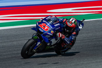 Maverick Vinales during official qualifying in Misano - MotoGP - Gran Premio di San Marino e della Riviera di Rimini - Qualifications  - MOTOGP - MOTORI