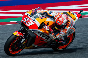 Marc Marquez during official qualifying in Misano - MotoGP - Gran Premio di San Marino e della Riviera di Rimini - Qualifications  - MOTOGP - MOTORI
