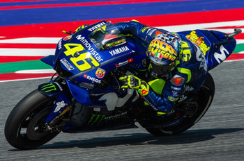Valentino Rossi during official qualifying in Misano - MotoGP - Gran Premio di San Marino e della Riviera di Rimini - Qualifications  - MOTOGP - MOTORI