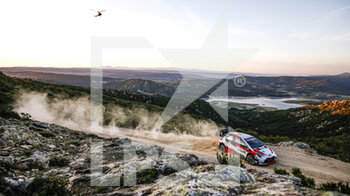 10/10/2020 - 18 KATSUTA Takamoto (JPN), BARRITT Daniel (GBR), Toyota Yaris WRC, Toyota Gazoo Racing WRT, action during the 2020 Rally Italia Sardegna, 6th round of the 2020 FIA WRC Championship from October 8 to 11, 2020 at Alghero, Sardegna in Italy - Photo Paulo Maria / DPPI - RALLY DI SARDEGNA - 6TH ROUND OF THE 2020 FIA WRC CHAMPIONSHIP  - RALLY - MOTORI