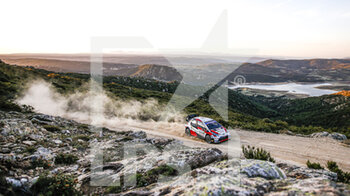 10/10/2020 - 69 ROVANPERA Kalle (FIN), HALTTUNEN Jonne (FIN), Toyota Yaris WRC, Toyota Gazoo Racing WRT, action during the 2020 Rally Italia Sardegna, 6th round of the 2020 FIA WRC Championship from October 8 to 11, 2020 at Alghero, Sardegna in Italy - Photo Paulo Maria / DPPI - RALLY DI SARDEGNA - 6TH ROUND OF THE 2020 FIA WRC CHAMPIONSHIP  - RALLY - MOTORI
