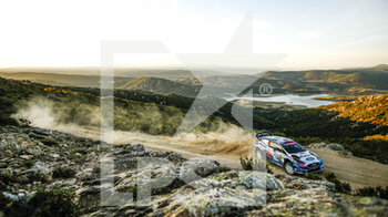 10/10/2020 - 44 GREENSMITH Gus (GBR), EDMONDSON Elliott (GBR), Ford Fiesta WRC, M-Sport Ford WRT, action during the 2020 Rally Italia Sardegna, 6th round of the 2020 FIA WRC Championship from October 8 to 11, 2020 at Alghero, Sardegna in Italy - Photo Paulo Maria / DPPI - RALLY DI SARDEGNA - 6TH ROUND OF THE 2020 FIA WRC CHAMPIONSHIP  - RALLY - MOTORI