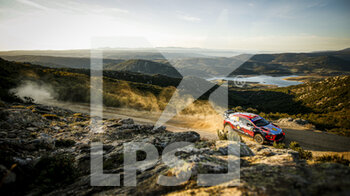 10/10/2020 - 06 SORDO Dani (ESP), DEL BARRIO Carlos (ESP), Hyundai i20 Coupe WRC, Hyundai Shell Mobis WRT, action during the 2020 Rally Italia Sardegna, 6th round of the 2020 FIA WRC Championship from October 8 to 11, 2020 at Alghero, Sardegna in Italy - Photo Paulo Maria / DPPI - RALLY DI SARDEGNA - 6TH ROUND OF THE 2020 FIA WRC CHAMPIONSHIP  - RALLY - MOTORI