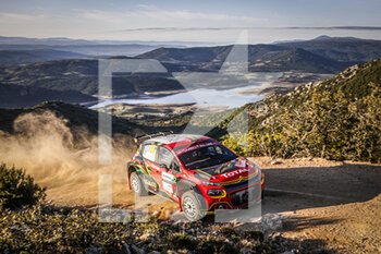 10/10/2020 - 29 Marco BULACIA WILKINSON (bol), Marcelo DER OHANNESIAN (arg), CITROEN C3, WRC 3, action during the 2020 Rally Italia Sardegna, 6th round of the 2020 FIA WRC Championship from October 8 to 11, 2020 at Alghero, Sardegna in Italy - Photo Paulo Maria / DPPI - RALLY DI SARDEGNA - 6TH ROUND OF THE 2020 FIA WRC CHAMPIONSHIP  - RALLY - MOTORI