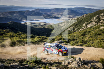 10/10/2020 - 39 SOLANS Jan (ESP), BARREIRO Mauro (ESP), Ford Fiesta R5 MkII, WRC 3, action during the 2020 Rally Italia Sardegna, 6th round of the 2020 FIA WRC Championship from October 8 to 11, 2020 at Alghero, Sardegna in Italy - Photo Paulo Maria / DPPI - RALLY DI SARDEGNA - 6TH ROUND OF THE 2020 FIA WRC CHAMPIONSHIP  - RALLY - MOTORI