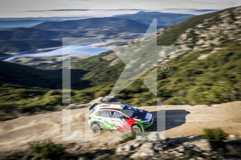 10/10/2020 - 56 Pierrat Bertrand, Chevalier Aur.lia, Volkswagen Polo GTI R5, action during the 2020 Rally Italia Sardegna, 6th round of the 2020 FIA WRC Championship from October 8 to 11, 2020 at Alghero, Sardegna in Italy - Photo Paulo Maria / DPPI - RALLY DI SARDEGNA - 6TH ROUND OF THE 2020 FIA WRC CHAMPIONSHIP  - RALLY - MOTORI
