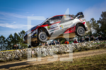 10/10/2020 - 17 OGIER Sebastien (FRA), INGRASSIA Julien (FRA), Toyota Yaris WRC, Toyota Gazoo Racing WRT, action during the 2020 Rally Italia Sardegna, 6th round of the 2020 FIA WRC Championship from October 8 to 11, 2020 at Alghero, Sardegna in Italy - Photo Paulo Maria / DPPI - RALLY DI SARDEGNA - 6TH ROUND OF THE 2020 FIA WRC CHAMPIONSHIP  - RALLY - MOTORI