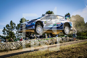 10/10/2020 - 03 SUNINEN Teemu (FIN), LEHTINEN Jarmo (FIN), Ford Fiesta WRC, M-Sport Ford WRT, action during the 2020 Rally Italia Sardegna, 6th round of the 2020 FIA WRC Championship from October 8 to 11, 2020 at Alghero, Sardegna in Italy - Photo Paulo Maria / DPPI - RALLY DI SARDEGNA - 6TH ROUND OF THE 2020 FIA WRC CHAMPIONSHIP  - RALLY - MOTORI