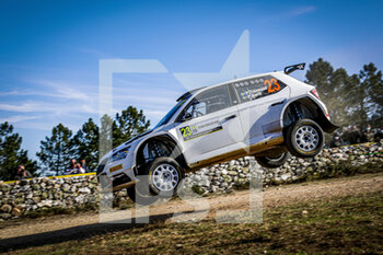 10/10/2020 - 23 TIDEMAND Puntus (swe), Patrik BARTH (swe), TOKSPORT WRT, SKODA Fabia Evo, WRC 2, action during the 2020 Rally Italia Sardegna, 6th round of the 2020 FIA WRC Championship from October 8 to 11, 2020 at Alghero, Sardegna in Italy - Photo Paulo Maria / DPPI - RALLY DI SARDEGNA - 6TH ROUND OF THE 2020 FIA WRC CHAMPIONSHIP  - RALLY - MOTORI