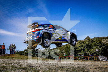 10/10/2020 - 25 FOURMAUX Adrien (FRA), JAMOUL Renaud (FRA), Ford Fiesta R5 MkII, M-Sport Ford WRT WRC 2, action during the 2020 Rally Italia Sardegna, 6th round of the 2020 FIA WRC Championship from October 8 to 11, 2020 at Alghero, Sardegna in Italy - Photo Paulo Maria / DPPI - RALLY DI SARDEGNA - 6TH ROUND OF THE 2020 FIA WRC CHAMPIONSHIP  - RALLY - MOTORI