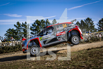 10/10/2020 - 24 OSTBERG Mads (NOR), ERIKSEN Torstein (NOR), Citroen C3 R5, PH Sport WRC 2, action during the 2020 Rally Italia Sardegna, 6th round of the 2020 FIA WRC Championship from October 8 to 11, 2020 at Alghero, Sardegna in Italy - Photo Paulo Maria / DPPI - RALLY DI SARDEGNA - 6TH ROUND OF THE 2020 FIA WRC CHAMPIONSHIP  - RALLY - MOTORI