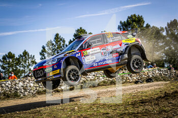 10/10/2020 - 30 HUTTUNEN Jari (FIN), LUKKA Mikko (FIN), Hyundai NG i20, WRC 3, action during the 2020 Rally Italia Sardegna, 6th round of the 2020 FIA WRC Championship from October 8 to 11, 2020 at Alghero, Sardegna in Italy - Photo Paulo Maria / DPPI - RALLY DI SARDEGNA - 6TH ROUND OF THE 2020 FIA WRC CHAMPIONSHIP  - RALLY - MOTORI