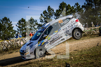 10/10/2020 - 49 Vossen Henk, Berkhof Erwin, Ford Fiesta R5, action during the 2020 Rally Italia Sardegna, 6th round of the 2020 FIA WRC Championship from October 8 to 11, 2020 at Alghero, Sardegna in Italy - Photo Paulo Maria / DPPI - RALLY DI SARDEGNA - 6TH ROUND OF THE 2020 FIA WRC CHAMPIONSHIP  - RALLY - MOTORI