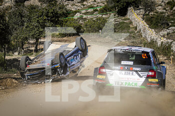 10/10/2020 - 41 PEDRO, Baldaccini Emanuele, Ford Fiesta R5 MkII, WRC 3, action during the 2020 Rally Italia Sardegna, 6th round of the 2020 FIA WRC Championship from October 8 to 11, 2020 at Alghero, Sardegna in Italy - Photo Paulo Maria / DPPI - RALLY DI SARDEGNA - 6TH ROUND OF THE 2020 FIA WRC CHAMPIONSHIP  - RALLY - MOTORI