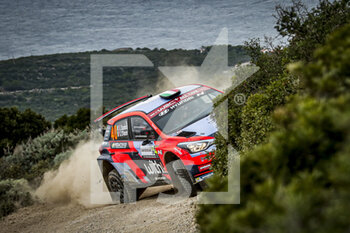 10/10/2020 - 40 Umberto SCANDOLA (ITA), Guido D'AMORE (ITA), Hyundai i20 R5, WRC 3, action during the 2020 Rally Italia Sardegna, 6th round of the 2020 FIA WRC Championship from October 8 to 11, 2020 at Alghero, Sardegna in Italy - Photo Paulo Maria / DPPI - RALLY DI SARDEGNA - 6TH ROUND OF THE 2020 FIA WRC CHAMPIONSHIP  - RALLY - MOTORI