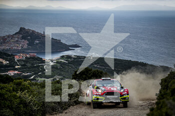 10/10/2020 - 22 PROKOP Martin (CZE), JURKA Zdenek (CZE), Ford Fiesta RS WRC, MP-Sports, action during the 2020 Rally Italia Sardegna, 6th round of the 2020 FIA WRC Championship from October 8 to 11, 2020 at Alghero, Sardegna in Italy - Photo Paulo Maria / DPPI - RALLY DI SARDEGNA - 6TH ROUND OF THE 2020 FIA WRC CHAMPIONSHIP  - RALLY - MOTORI