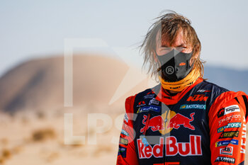 06/01/2021 - Price Toby (aus), KTM, Red Bull KTM Factory Team, Moto, Bike, portrait during the 4th stage of the Dakar 2021 between Wadi Al Dawasir and Riyadh, in Saudi Arabia on January 6, 2021 - Photo Florent Gooden / DPPI - DAKAR 2021 - 4TH STAGE - WADI AL DAWASIR - RIYADH - RALLY - MOTORI