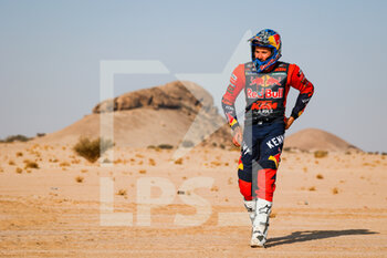 06/01/2021 - Sunderland Sam (gbr), KTM, Red Bull KTM Factory Team, Moto, Bike, portrait during the 4th stage of the Dakar 2021 between Wadi Al Dawasir and Riyadh, in Saudi Arabia on January 6, 2021 - Photo Florent Gooden / DPPI - DAKAR 2021 - 4TH STAGE - WADI AL DAWASIR - RIYADH - RALLY - MOTORI