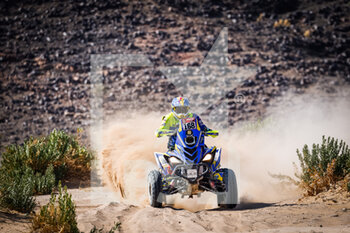 06/01/2021 - 168 Pedemonte Italo (chl), Yamaha, Enrico Racing Team, Quad, action during the 4th stage of the Dakar 2021 between Wadi Al Dawasir and Riyadh, in Saudi Arabia on January 6, 2021 - Photo Frédéric Le Floc'h / DPPI - DAKAR 2021 - 4TH STAGE - WADI AL DAWASIR - RIYADH - RALLY - MOTORI