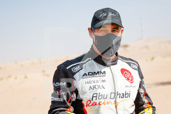 06/01/2021 - Horn Mike (swi), Peugeot, PH Sport, Abu Dhabi Racing, Auto, portrait during the 4th stage of the Dakar 2021 between Wadi Al Dawasir and Riyadh, in Saudi Arabia on January 6, 2021 - Photo Florent Gooden / DPPI - DAKAR 2021 - 4TH STAGE - WADI AL DAWASIR - RIYADH - RALLY - MOTORI