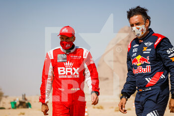 06/01/2021 - Winocq Alexandre (fra), Hunter, Bahrain Raid Extreme, BRX, Auto, portrait during the 4th stage of the Dakar 2021 between Wadi Al Dawasir and Riyadh, in Saudi Arabia on January 6, 2021 - Photo Florent Gooden / DPPI - DAKAR 2021 - 4TH STAGE - WADI AL DAWASIR - RIYADH - RALLY - MOTORI