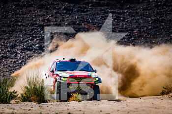 06/01/2021 - 312 Prokop Martin (cze), Chytka Viktor (cze), Ford, Orlen Benzina Team, Auto, action during the 4th stage of the Dakar 2021 between Wadi Al Dawasir and Riyadh, in Saudi Arabia on January 6, 2021 - Photo Frédéric Le Floc'h / DPPI - DAKAR 2021 - 4TH STAGE - WADI AL DAWASIR - RIYADH - RALLY - MOTORI