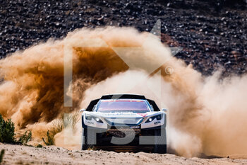 06/01/2021 - 314 Despres Cyril (fra), Horn Mike (swi), Peugeot, PH Sport, Abu Dhabi Racing, Auto, action during the 4th stage of the Dakar 2021 between Wadi Al Dawasir and Riyadh, in Saudi Arabia on January 6, 2021 - Photo Frédéric Le Floc'h / DPPI - DAKAR 2021 - 4TH STAGE - WADI AL DAWASIR - RIYADH - RALLY - MOTORI
