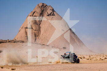 06/01/2021 - 391 Liparoti Camelia (ita), Fischer Annett (deu), Yamaha, X-Raid Yamha Racing Rally Supported Team, Light Weight Vehicles Prototype - T3, action during the 4th stage of the Dakar 2021 between Wadi Al Dawasir and Riyadh, in Saudi Arabia on January 6, 2021 - Photo Florent Gooden / DPPI - DAKAR 2021 - 4TH STAGE - WADI AL DAWASIR - RIYADH - RALLY - MOTORI