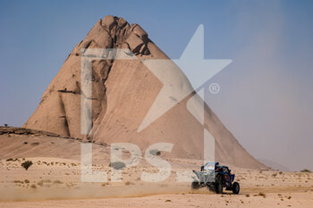 06/01/2021 - 385 Ekstrom Mattias (swe), Bergvist Emil (swe), Yamaha, X-Raid Yamaha Racing Rally Supported Team, Light Weight Vehicles Prototype - T3, action during the 4th stage of the Dakar 2021 between Wadi Al Dawasir and Riyadh, in Saudi Arabia on January 6, 2021 - Photo Florent Gooden / DPPI - DAKAR 2021 - 4TH STAGE - WADI AL DAWASIR - RIYADH - RALLY - MOTORI