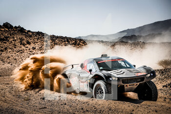 06/01/2021 - 348 Leroy Alexandre (bel), Delangue Nicolas (fra), Buggy, SRT Racing, Auto, action during the 4th stage of the Dakar 2021 between Wadi Al Dawasir and Riyadh, in Saudi Arabia on January 6, 2021 - Photo Antonin Vincent / DPPI - DAKAR 2021 - 4TH STAGE - WADI AL DAWASIR - RIYADH - RALLY - MOTORI