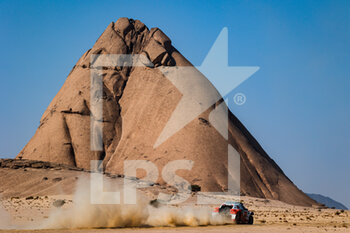 06/01/2021 - 365 Moilet Hugues (fra), Galland Antoine (fra), Fouquet Chevrolet, Off Road Concept, Auto, action during the 4th stage of the Dakar 2021 between Wadi Al Dawasir and Riyadh, in Saudi Arabia on January 6, 2021 - Photo Florent Gooden / DPPI - DAKAR 2021 - 4TH STAGE - WADI AL DAWASIR - RIYADH - RALLY - MOTORI