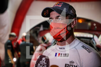 06/01/2021 - Loeb Sébastien (fra), Hunter, Bahrain Raid Xtreme, Auto, BRX, portrait during the 4th stage of the Dakar 2021 between Wadi Al Dawasir and Riyadh, in Saudi Arabia on January 6, 2021 - Photo Julien Delfosse / DPPI - DAKAR 2021 - 4TH STAGE - WADI AL DAWASIR - RIYADH - RALLY - MOTORI