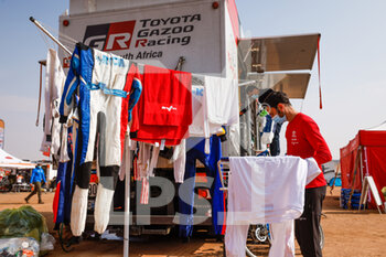 09/01/2021 - 322 Chabot Ronan (fra), Pillot Gilles (fra), Toyota, Overdrive Toyota, Auto, atmosphere during the Rest Day of the Dakar 2021 in Ha'il, in Saudi Arabia on January 9, 2021 - Photo Florent Gooden / DPPI - DAKAR 2021 - REST DAY - RALLY - MOTORI