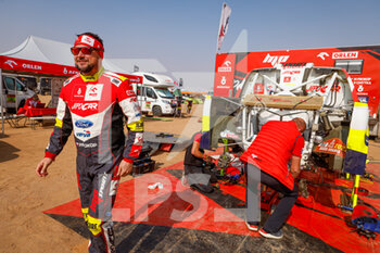 09/01/2021 - Prokop Martin (cze), Ford, Orlen Benzina Team, Auto, portrait during the Rest Day of the Dakar 2021 in Ha'il, in Saudi Arabia on January 9, 2021 - Photo Florent Gooden / DPPI - DAKAR 2021 - REST DAY - RALLY - MOTORI