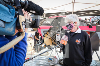 09/01/2021 - Strugo Jean-Pierre (fra), Peugeot, PH Sport, Auto, portrait during the Rest Day of the Dakar 2021 in Ha'il, in Saudi Arabia on January 9, 2021 - Photo Antonin Vincent / DPPI - DAKAR 2021 - REST DAY - RALLY - MOTORI