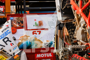 09/01/2021 - Original by motul during the Rest Day of the Dakar 2021 in Ha'il, in Saudi Arabia on January 9, 2021 - Photo Frédéric Le Floc'h / DPPI - DAKAR 2021 - REST DAY - RALLY - MOTORI