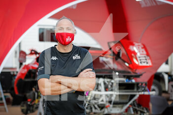 09/01/2021 - Thompson Richard, Chief Engineer of BRX, Bahrain Raid Xtrem, portrait during the Rest Day of the Dakar 2021 in Ha'il, in Saudi Arabia on January 9, 2021 - Photo Antonin Vincent / DPPI - DAKAR 2021 - REST DAY - RALLY - MOTORI