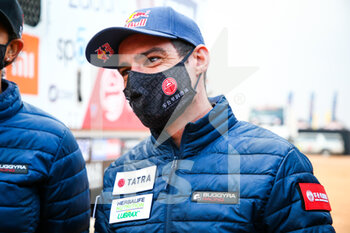 09/01/2021 - Casale Ignacio (chl), Tatra, Tatra Buggyra Racing, Camion, Truck, portrait during the Rest Day of the Dakar 2021 in Ha'il, in Saudi Arabia on January 9, 2021 - Photo Julien Delfosse / DPPI - DAKAR 2021 - REST DAY - RALLY - MOTORI