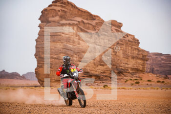 13/01/2021 - 01 Brabec Ricky (usa), Honda, Monster Energy Honda Team 2021, Motul, Moto, Bike, action during the 10th stage of the Dakar 2021 between Neom and Al-Ula, in Saudi Arabia on January 13, 2021 - Photo Antonin Vincent / DPPI - 10TH STAGE OF THE DAKAR 2021 BETWEEN NEOM AND ALULA - RALLY - MOTORI