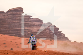 13/01/2021 - 42 Van Beveren Adrien (fra), Yamaha, Monster Energy Yamaha Rally Team, Moto, Bike, action during the 10th stage of the Dakar 2021 between Neom and Al-?Ula, in Saudi Arabia on January 13, 2021 - Photo Frédéric Le Floc'h / DPPI - 10TH STAGE OF THE DAKAR 2021 BETWEEN NEOM AND ALULA - RALLY - MOTORI